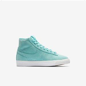 Nike Blazer Blue Suede  1ab37c0f7db8